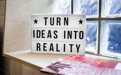 Velika ideja: kako je ostvariti?